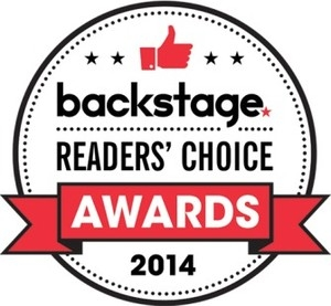 2014 Backstage Readers' Choice Awards Nominee