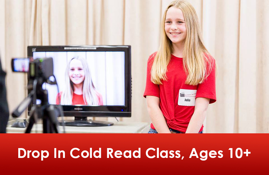 Drop-In Cold Read Class: Commercials, Voiceover, Monologue and TV/Film Sides
