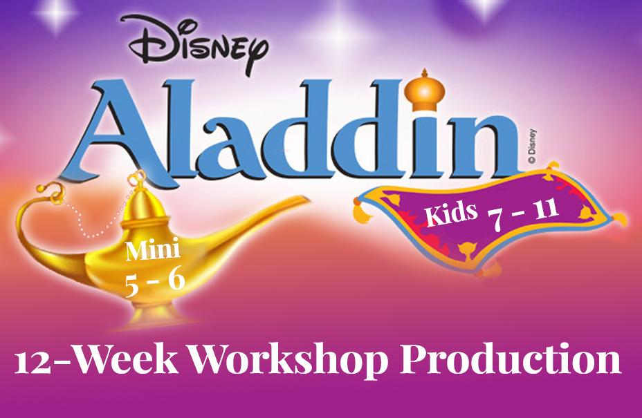Workshop Production Aladdin Kids