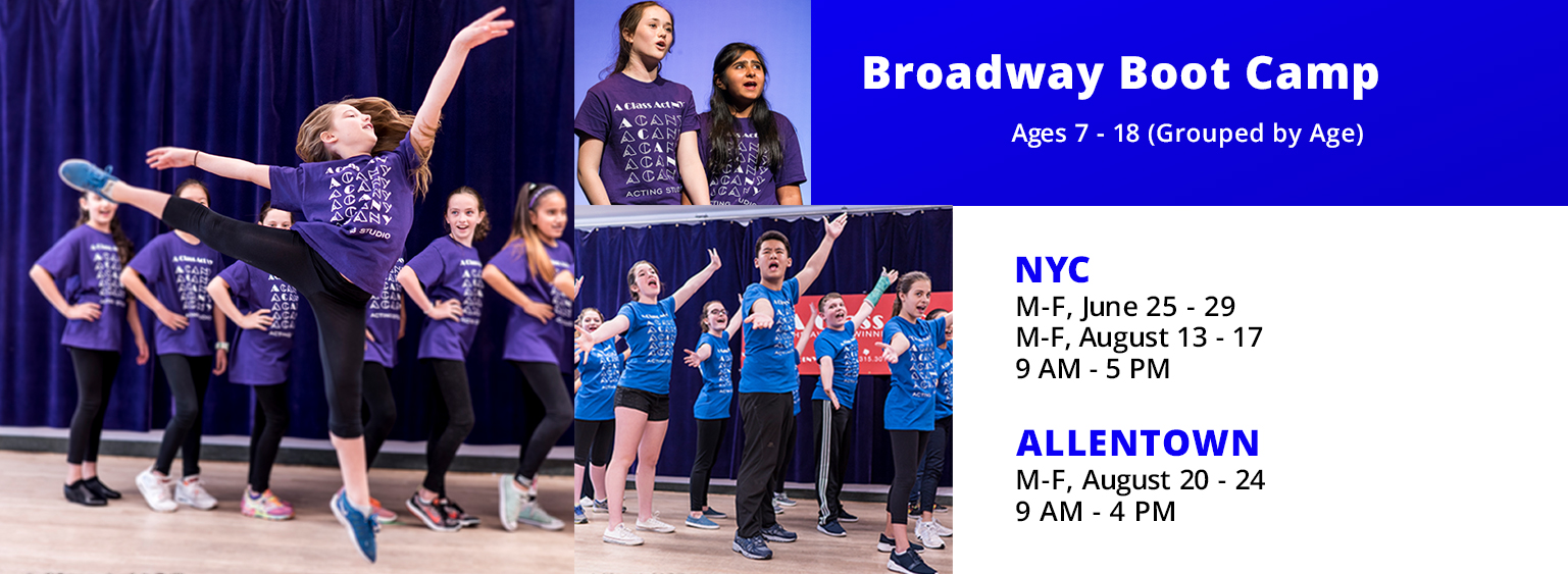 Broadway Boot Camp A Class Act NY