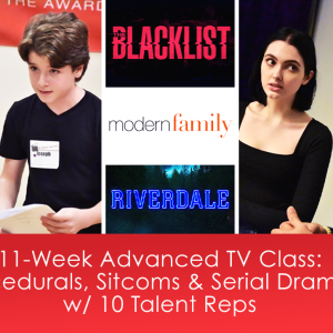 11-Week Industry Showcase TV Class: Procedurals, Sitcoms, & Serial Dramas with 10 Scouting Agents & Managers